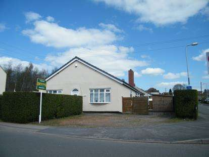 3 Bedrooms Bungalow for sale in Cannock Road, Chase Terrace, Burntwood, Staffordshire