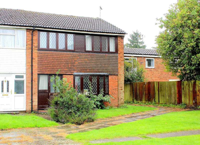 3 Bedrooms End Of Terrace House for sale in 3 BED with PARKING, SPA with HOT TUB in this VILLAGE LOCATION in Russell Close, Kensworth