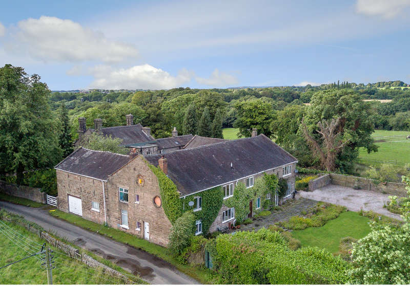 5 Bedrooms Unique Property for sale in Brook House Lane, Timbersbrook, Near Congleton