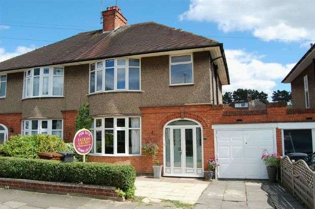 3 Bedrooms Semi Detached House for sale in The Headlands, The Headlands, Northampton NN3 2PA