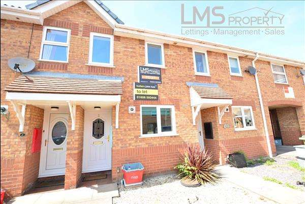 2 Bedrooms Mews House for sale in Tiffield Court, Winsford