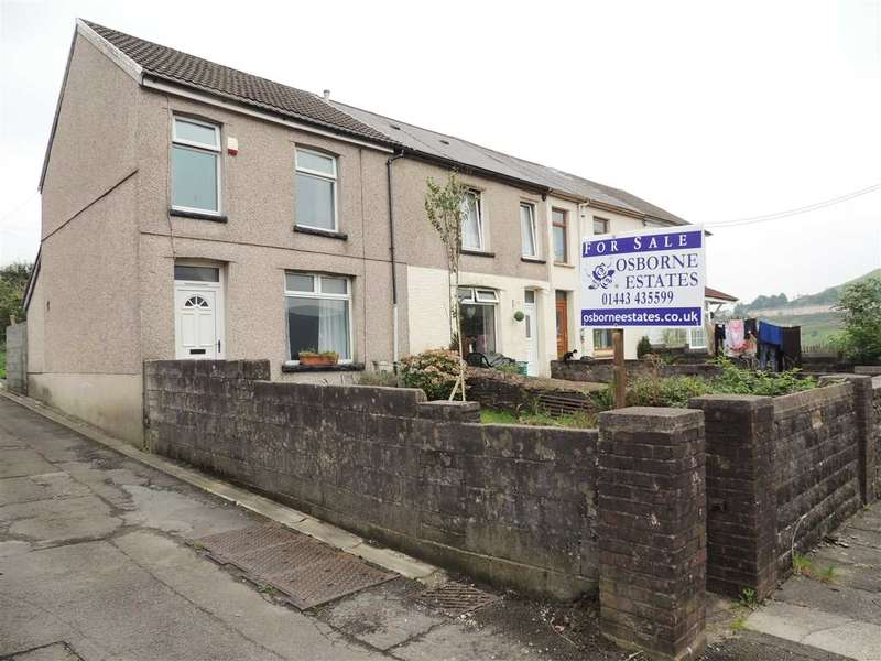 2 Bedrooms End Of Terrace House for sale in Fair View, Edmondstown, Tonypandy