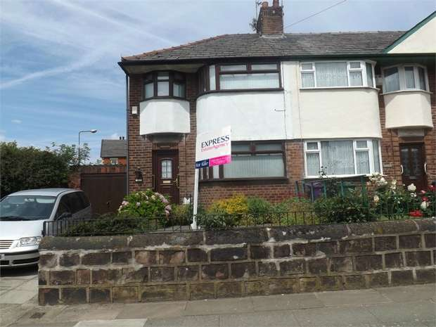 3 Bedrooms End Of Terrace House for sale in Derwent Road West, Liverpool, Merseyside