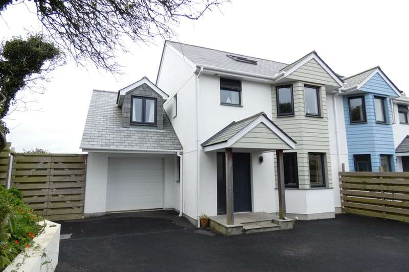 4 Bedrooms Semi Detached House for sale in Parc Askell Close, Helston, Cornwall, TR12