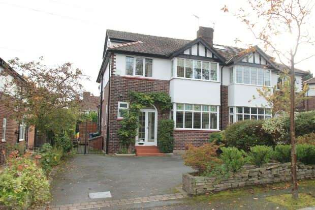 4 Bedrooms Semi Detached House for sale in Highfield Road, Hale