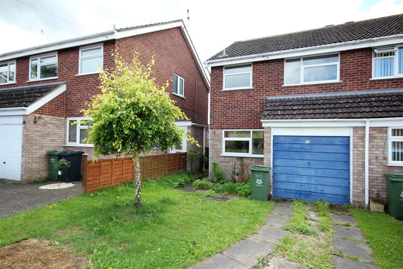 3 Bedrooms Semi Detached House for sale in Coleridge Close, Perdiswell, Worcester, WR3