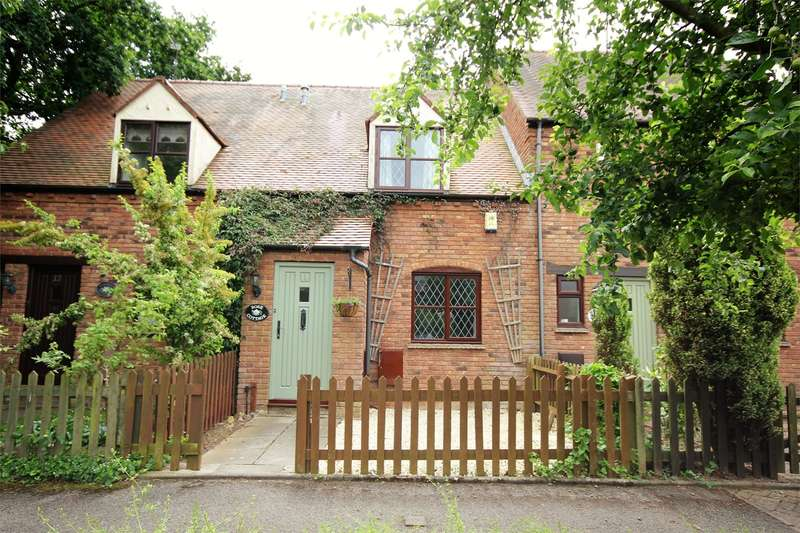2 Bedrooms Terraced House for sale in Great Oaty Gardens, Lyppard Hanford, Worcester, WR4