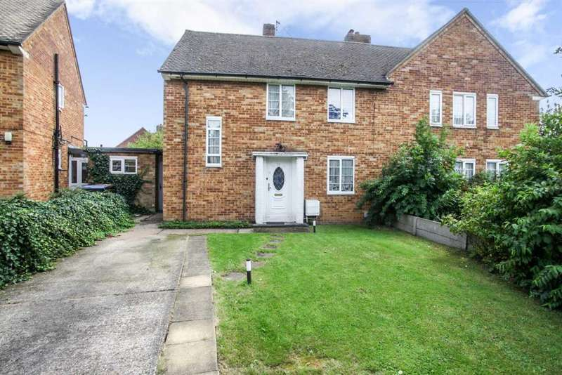 3 Bedrooms Semi Detached House for sale in South Ley, Welwyn Garden City