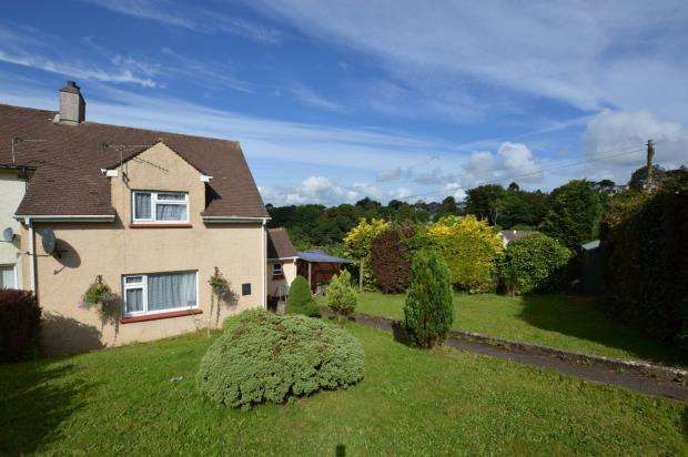 2 Bedrooms End Of Terrace House for sale in Melbourne Road, Liskeard, Cornwall