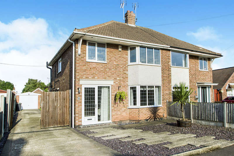 3 Bedrooms Semi Detached House for sale in Whitburn Road, Toton, Nottingham, NG9