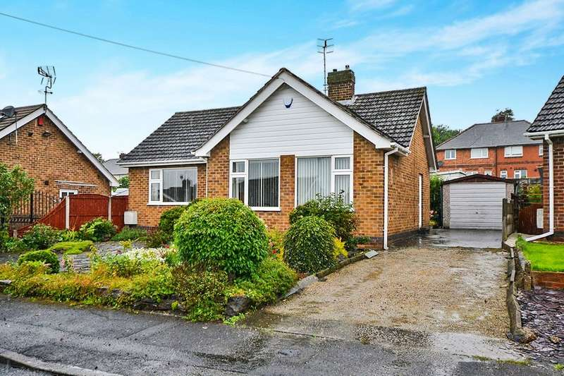 2 Bedrooms Detached Bungalow for sale in Violet Avenue, Newthorpe, Nottingham, NG16