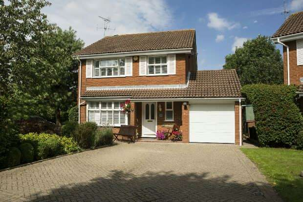 4 Bedrooms Detached House for sale in Toseland Way, Lower Earley, Reading,