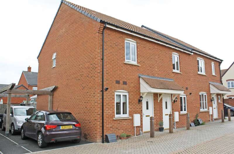 2 Bedrooms Semi Detached House for sale in Rookery Court, Didcot