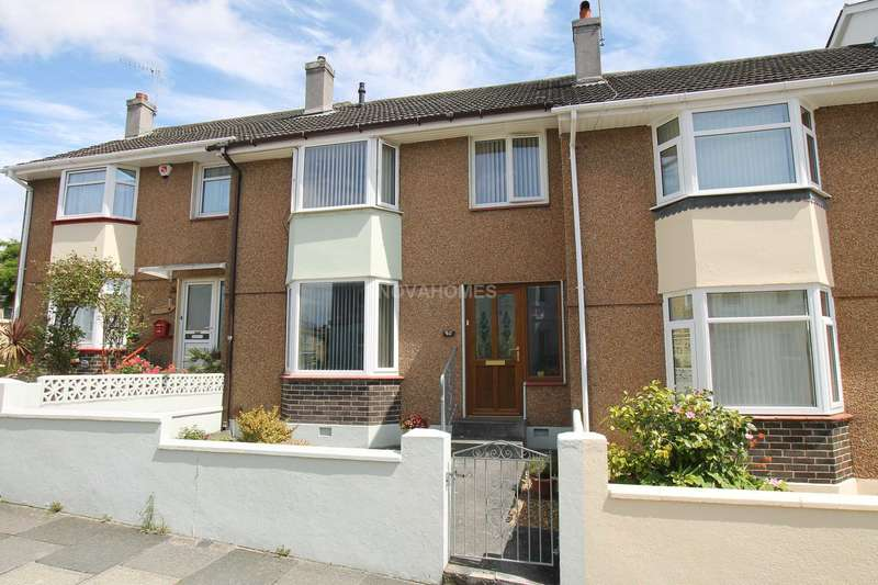 3 Bedrooms Terraced House for sale in Baring Street, Greenbank, PL4 8NG