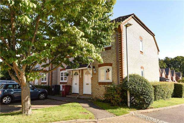 2 Bedrooms End Of Terrace House for sale in Manor Park Close, Tilehurst, Reading