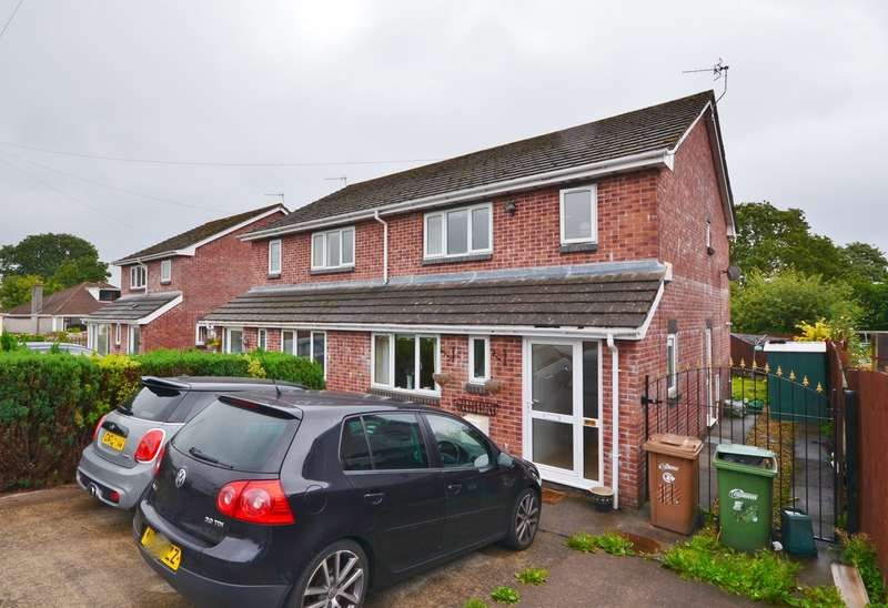 3 Bedrooms Semi Detached House for sale in Bryncelyn, Nelson, Treharris, CF46