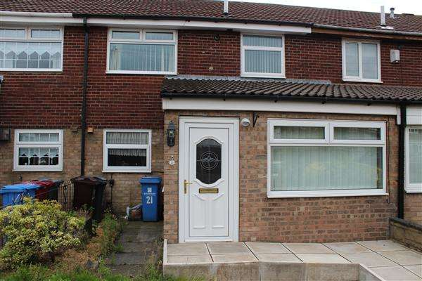 3 Bedrooms Town House for sale in Dee Close, Kirkby