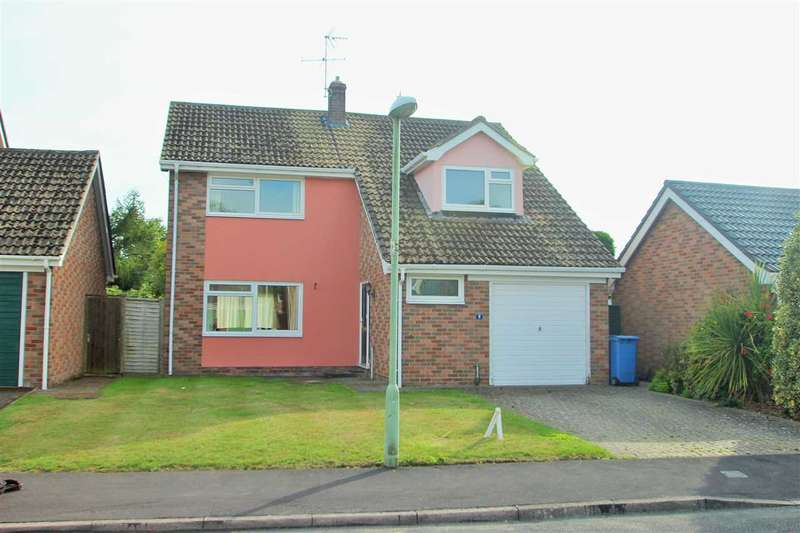 4 Bedrooms Detached House for sale in Veyses End, Stratford St. Mary, Colchester