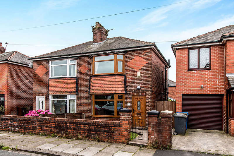 2 Bedrooms Semi Detached House for sale in Wolstenholme Avenue, Bury, BL9