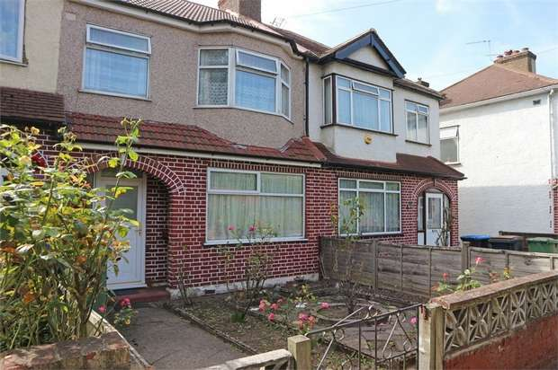 3 Bedrooms Terraced House for sale in Manor Farm Road, Wembley, Greater London