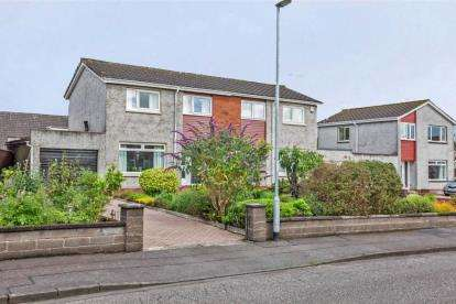 3 Bedrooms Semi Detached House for sale in The Cairns, Menstrie
