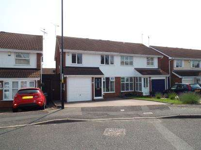 3 Bedrooms Semi Detached House for sale in Eacott Close, Coventry, West Midlands
