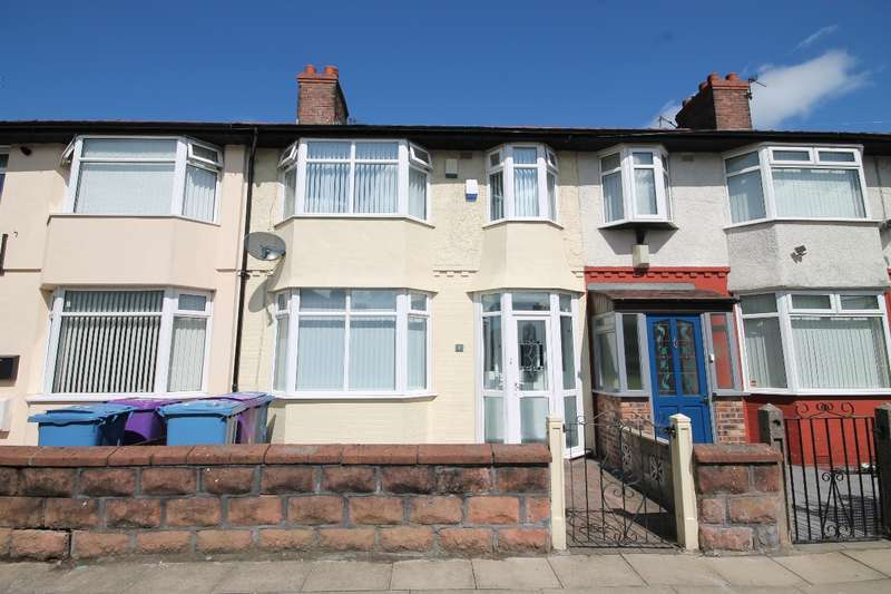 3 Bedrooms Terraced House for sale in Eastcliffe Road Old Swan L13