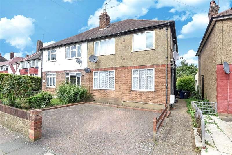 2 Bedrooms Maisonette Flat for sale in Peel Court, Ravenor Park Road, Greenford, UB6