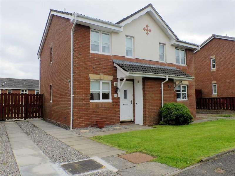 2 Bedrooms Semi Detached House for sale in Lochranza Lane, Lindsayfield, EAST KILBRIDE