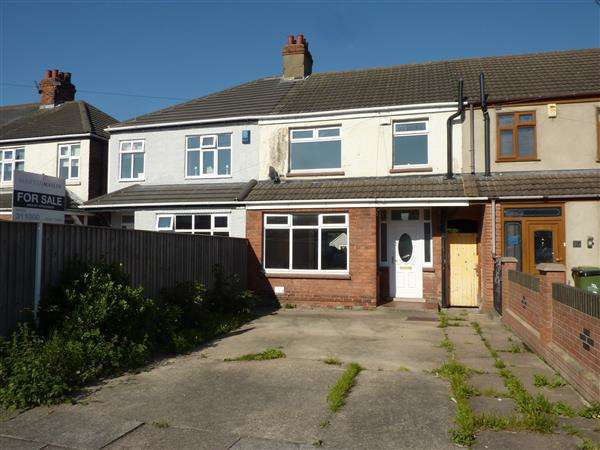 3 Bedrooms Terraced House for sale in BEELEY ROAD, GRIMSBY