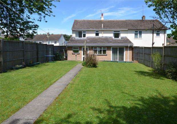 4 Bedrooms Semi Detached House for sale in Upton Crescent, Basingstoke, Hampshire