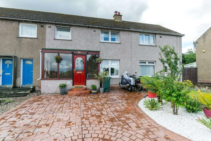 3 Bedrooms Terraced House for sale in Dolphin Road, Currie, Edinburgh, EH14 5RY