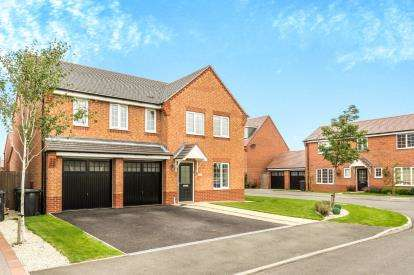 5 Bedrooms Detached House for sale in Warinford Close, Warwick, .