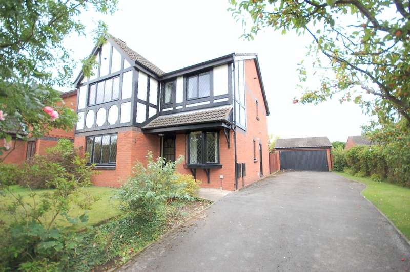 4 Bedrooms Detached House for sale in Burbank Close, Blackpool