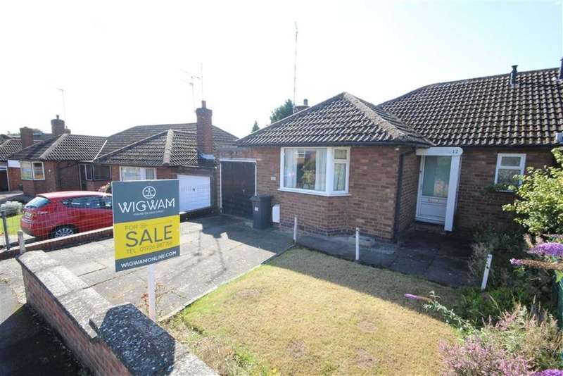 2 Bedrooms Bungalow for sale in Ledbrook Road, Leamington Spa, Warwickshire, CV32