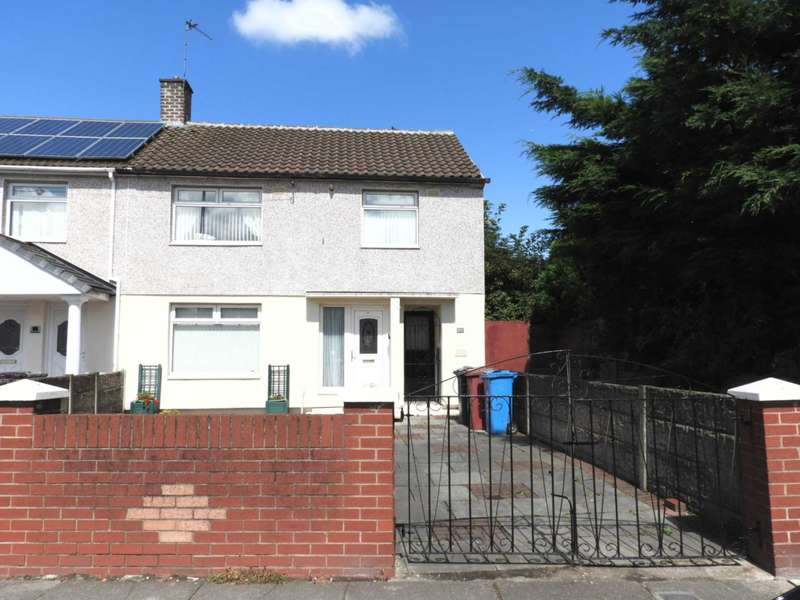 3 Bedrooms End Of Terrace House for sale in Whitefield Drive, Kirkby