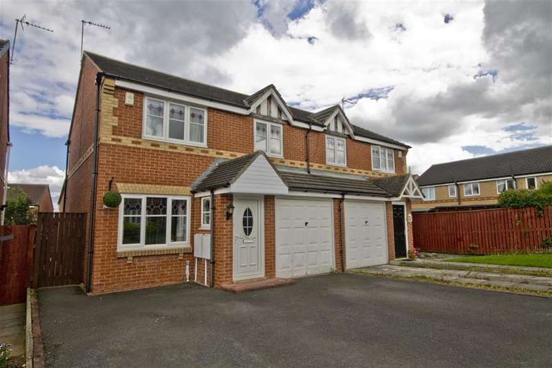 3 Bedrooms Semi Detached House for sale in Harewood Cres , Stockton-on-Tees, TS19 0SZ