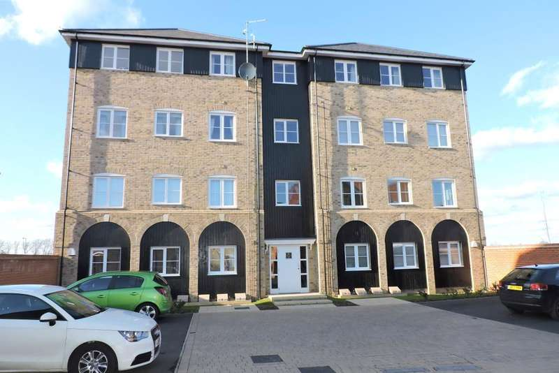 2 Bedrooms Flat for sale in Millbrook Close, Wixams, Bedfordshire, MK42 6DF