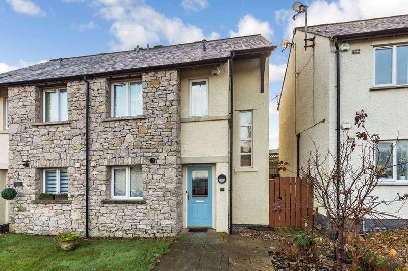 3 Bedrooms Semi Detached House for sale in 7 Hunters Croft, Kendal, Cumbria LA9 6SB