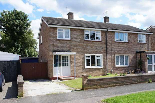 3 Bedrooms Semi Detached House for sale in Waveney Avenue, Bedford