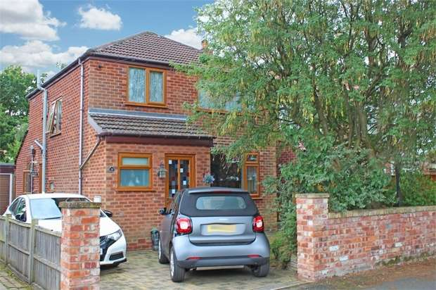 3 Bedrooms Detached House for sale in Milton Drive, Poynton, Stockport, Cheshire