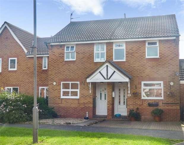 2 Bedrooms Terraced House for sale in Jubilee Court, Belper, Derbyshire