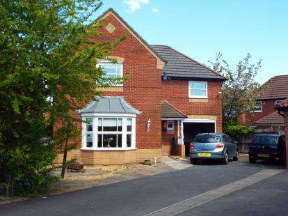 4 Bedrooms Detached House for sale in Carnoustie Drive, Euxton, Chorley, Lancashire