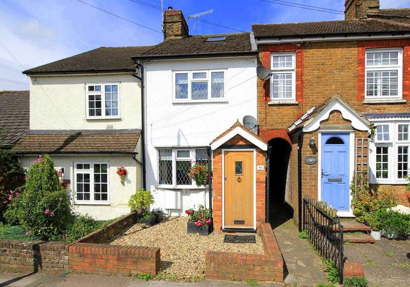 2 Bedrooms House for sale in 2 BED CHARACTER COTTAGE OVERLOOKING MOOR IN St Johns Road, BOXMOOR