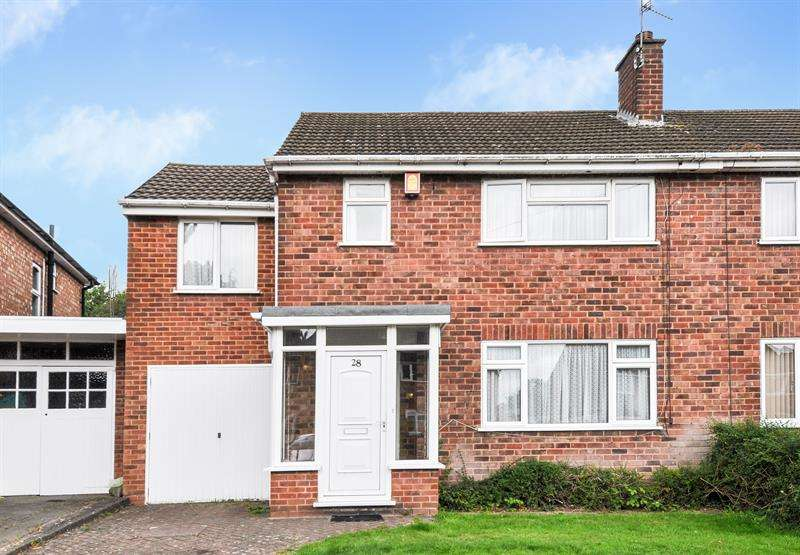 3 Bedrooms Semi Detached House for sale in Pensford Road, Northfield, Birmingham