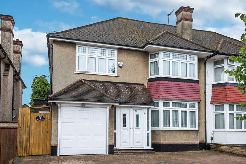 4 Bedrooms Semi Detached House for sale in Jesmond Way, Stanmore, London, HA7