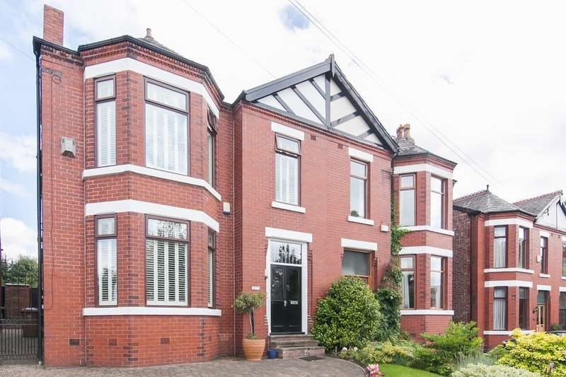 4 Bedrooms Semi Detached House for sale in Claremont Road, Salford, Greater Manchester, M6