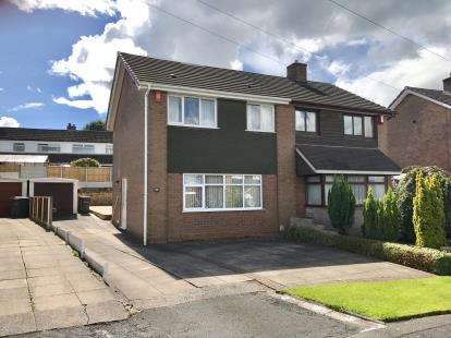 3 Bedrooms Semi Detached House for sale in Monmouth Place, Clayton, Newcastle Under Lyme, Staffs