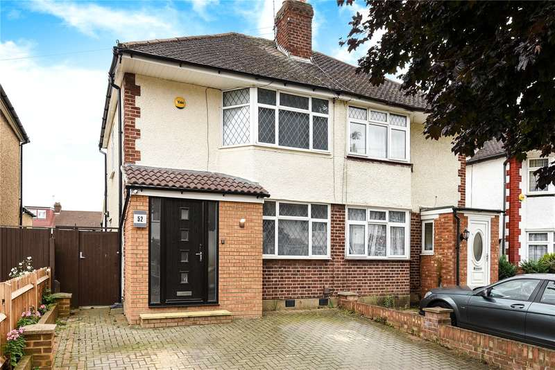 3 Bedrooms End Of Terrace House for sale in Royal Crescent, South Ruislip, Middlesex, HA4
