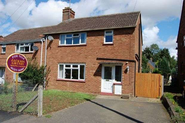 3 Bedrooms Semi Detached House for sale in Grasscroft, Long Buckby, Northampton NN6 7PZ
